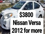 2012 Nissan Versa under $4000 in California