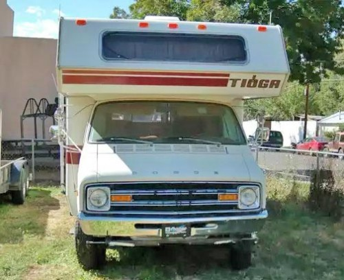 Used Rvs For Sale In Texas By Owner >> 78 Dodge Tioga Motorhome Class C Rv Under 1000 El Paso Tx