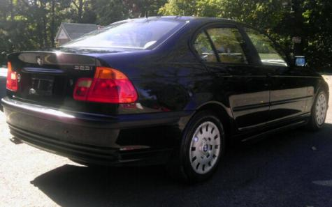 Used Luxury Car Under $4000 - Nice BMW 323i 1999 Silver in CT