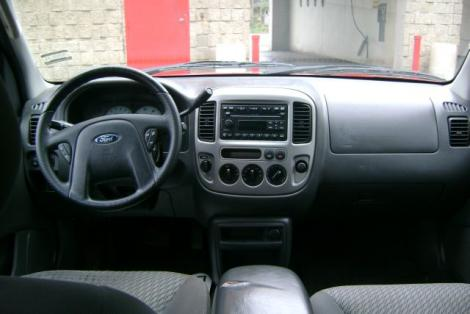 Photo #3: SUV: 2003 Ford Escape (Red)