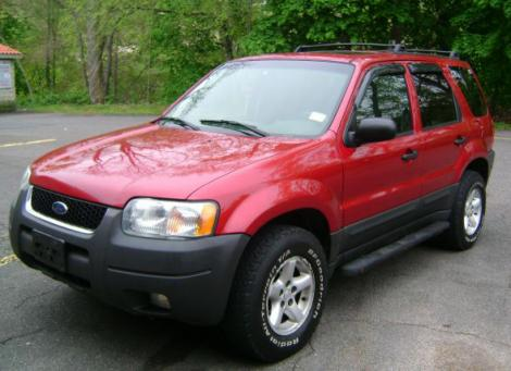 Photo #1: SUV: 2003 Ford Escape (Red)