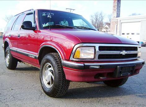 Used 1996 Chevrolet Blazer Suv For Sale In Ct Autopten Com