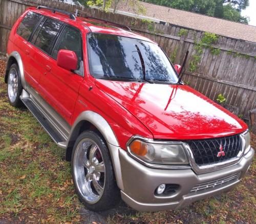 '00 Mitsubishi Montero Nativa SUV $2K Or Less In Tampa, FL