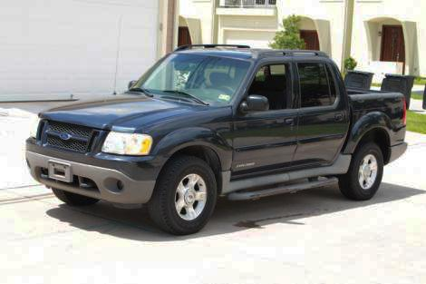 2001 ford explorer sport trac pickup truck for sale in houston tx under 5000. Black Bedroom Furniture Sets. Home Design Ideas