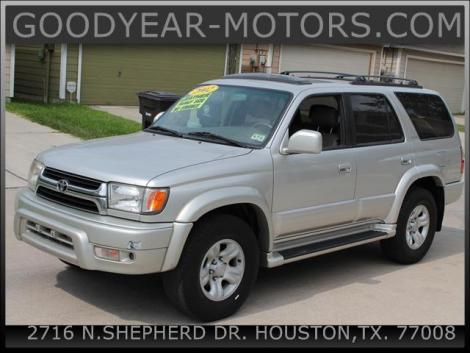2002 Toyota 4Runner Limited For Sale in Houston TX Under ...