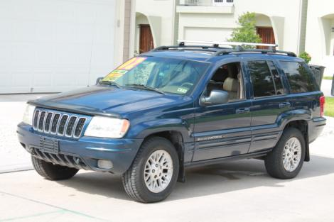2002 Jeep Grand Cherokee Suv For Sale In Houston Tx Under