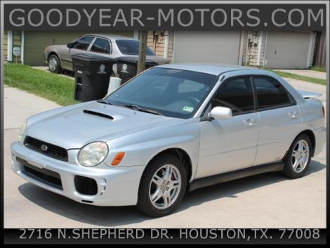 2002 subaru impreza wrx for sale in houston tx under 10000. Black Bedroom Furniture Sets. Home Design Ideas