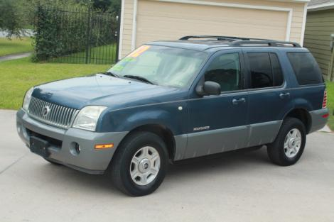 2002 Mercury Mountaineer V8 For Sale In Houston Tx Under