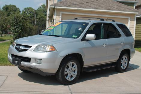 Used Cars Under 15000 >> 2004 Acura MDX Touring For Sale in Houston TX Under $14000 ...