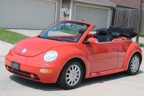 Cars For Under 3000 >> 2004 Volkswagen Beetle Convertible For Sale in Houston TX ...