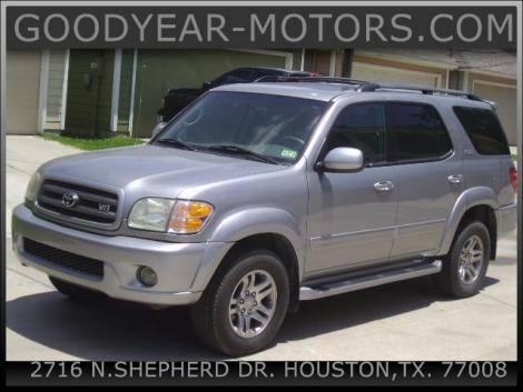 2004 Toyota Sequoia SR5 For Sale in Houston TX Under $10000 - Autopten.com