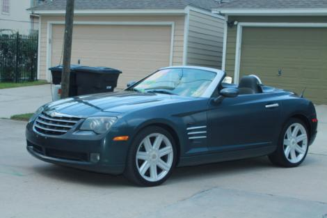 Range Rover Used For Sale >> 2006 Chrysler Crossfire Limited Convertible For Sale in ...