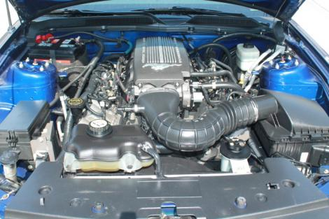 Photo #11: sports coupe: 2007 Ford Mustang (Blue)
