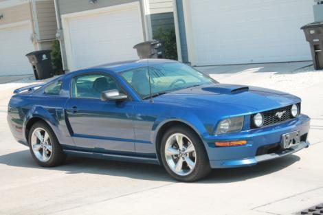 Photo #2: sports coupe: 2007 Ford Mustang (Blue)