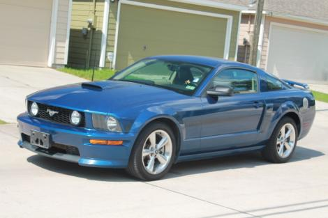 Photo #1: sports coupe: 2007 Ford Mustang (Blue)