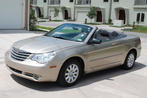 Photo #1: convertible: 2009 Chrysler Sebring (Beige)