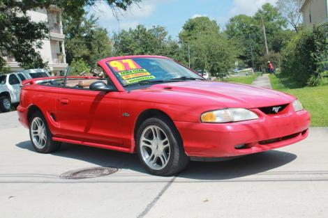 Photo #2: convertible: 1997 Ford Mustang (Redfire)