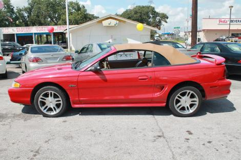 Photo #5: convertible: 1997 Ford Mustang (Redfire)