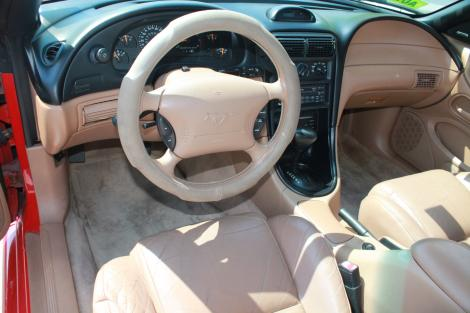 Photo #8: convertible: 1997 Ford Mustang (Redfire)