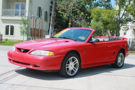 Photo #1: convertible: 1997 Ford Mustang (Redfire)