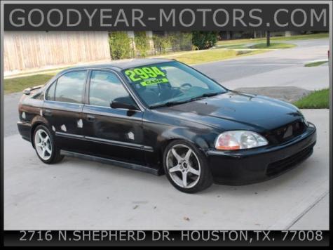 1997 Honda Civic LX For Sale in Houston TX Under $3000 ...