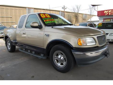 2000 ford f 150 supercab for sale in houston tx under 7000. Black Bedroom Furniture Sets. Home Design Ideas