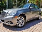 2011 Mercedes Benz E-Class under $17000 in Florida