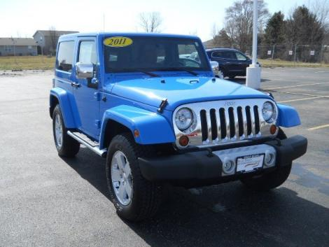 2011 Jeep Wrangler Sahara For Sale In Sycamore Il Under