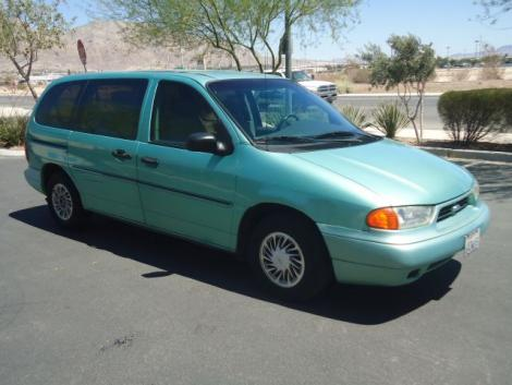 Photo #3: passenger minivan: 1998 Ford Windstar (Teal)
