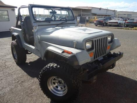 used 1989 jeep wrangler sahara crossover for sale in nv. Black Bedroom Furniture Sets. Home Design Ideas