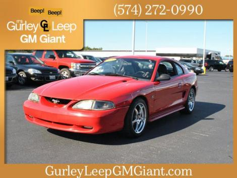 used 1995 ford mustang sports coupe under 3000 in in. Black Bedroom Furniture Sets. Home Design Ideas