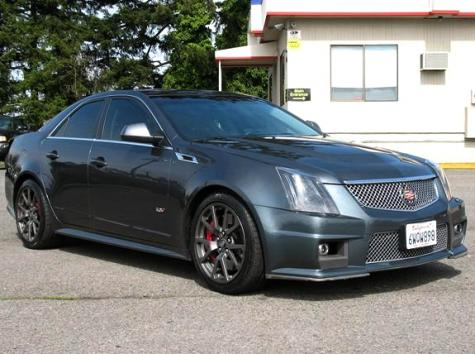 Used Sport Sedan Cadillac Cts V 12 For Sale Like New Low