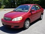 2003 Toyota Corolla under $4000 in Maryland
