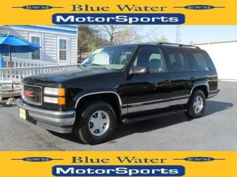 1999 GMC Yukon SLE For Sale in Wilmington NC Under $4000 - Autopten.com