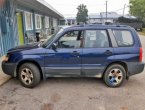 2005 Subaru Forester (Dark Blue)