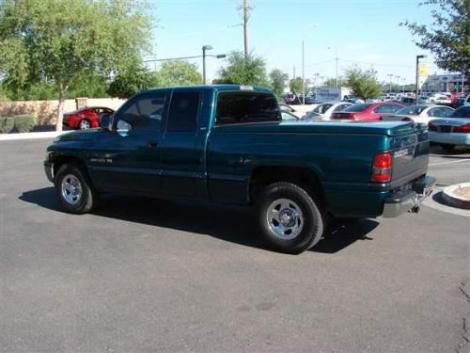 Photo #3: truck: 1999 Dodge Ram (Green)