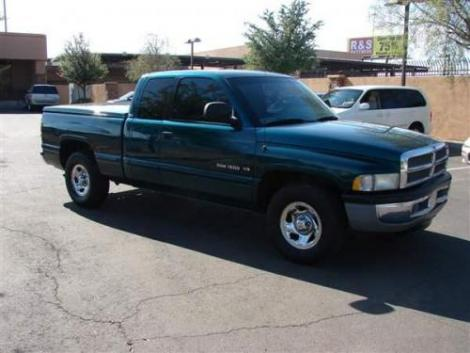 Photo #5: truck: 1999 Dodge Ram (Green)