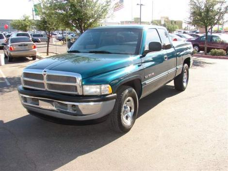 Photo #1: truck: 1999 Dodge Ram (Green)