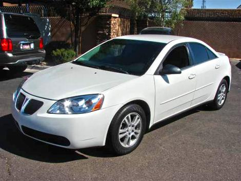 2006 Pontiac G6 Sports Sedan For Sale In Phoenix Az Under