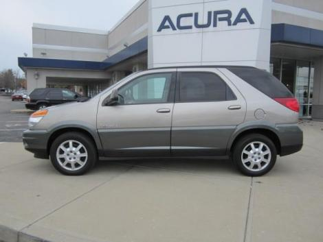 used 2002 buick rendezvous cx suv for sale in oh. Black Bedroom Furniture Sets. Home Design Ideas