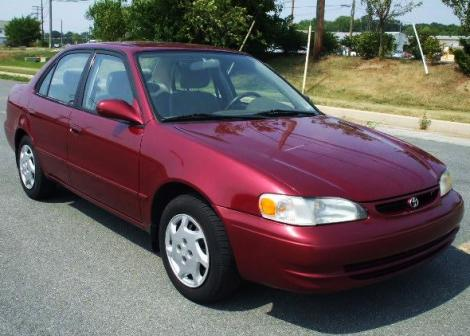 Fuel Efficient Car Under 5000 In Md Toyota Corolla Le