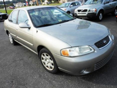 Used 2002 Nissan Sentra GXE Under $6000 Baltimore MD ...