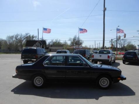Used Cars For Sale Wichita Ks >> Cheap Classic Sedan BMW 528e '88 For Sale Under $1500 in Kansas - Autopten.com