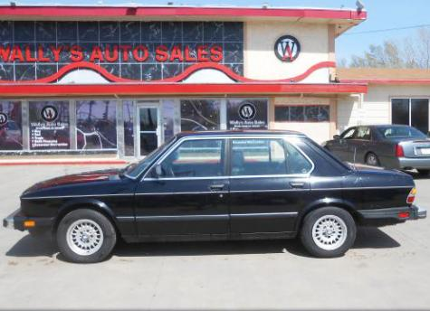 cheap classic sedan bmw 528e 39 88 for sale under 1500 in kansas. Black Bedroom Furniture Sets. Home Design Ideas