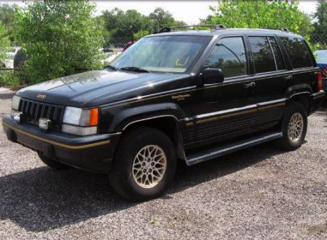 used 1995 jeep grand cherokee limited suv for sale in ks. Black Bedroom Furniture Sets. Home Design Ideas