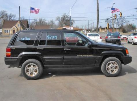 Used Cars Under 500 >> Cheap Jeep Grand Cherokee Orvis 4x4 SUV For Sale Under $2000 (Black) - Autopten.com