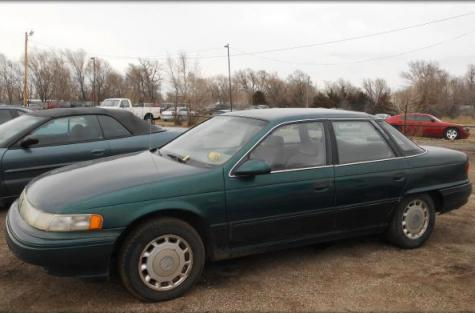 1993 mercury sable gs commuter car under 2000 in wichita ks. Black Bedroom Furniture Sets. Home Design Ideas