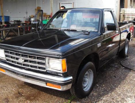 used 1987 chevrolet s 10 pickup truck for sale in ks. Black Bedroom Furniture Sets. Home Design Ideas