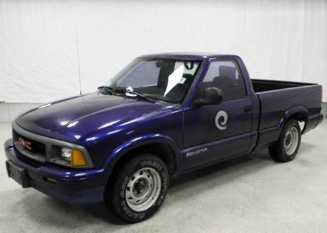Gmc Sonoma 95 Pickup Truck Sold For Less Than 2000 In