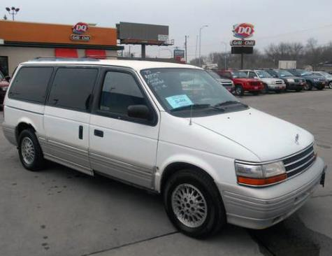 95 Plymouth Voyager For Sale Cheap Minivan Under 1500